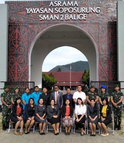 The amazing teachers I will be working with this year in SMAN 2